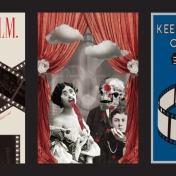 Film Post Cards by Krista Conley