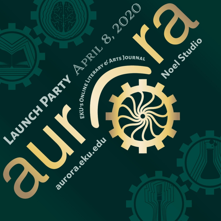 Aurora Launch Party Graphic