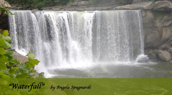 """Waterfall"" by Angela Spugnardi"