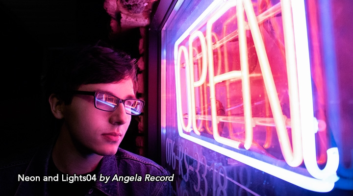Neon and Lights04 by Angela Record