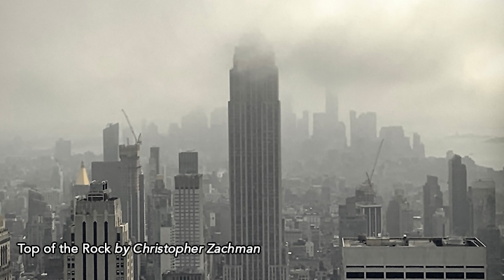 Top of the Rock by Christopher Zachman